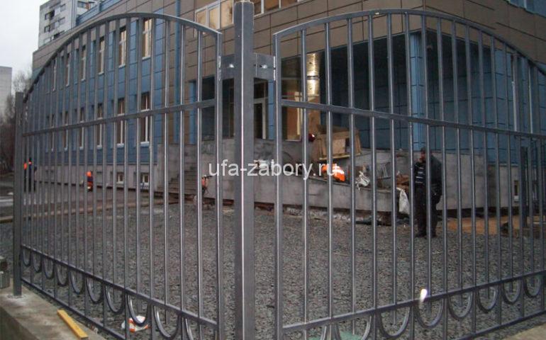 забор из профтрубы в Уфе